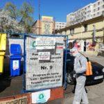 Urban SA – Actiune de dezinfectie la punctele de colectare separata